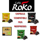 25 Capsules Nespresso Coffee Roko Blend all Flavours Various Classic Gold Top