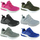 Kids Girls Running Trainers Womens Fitness Gym Sports Comfy Lace Up Shoes Sizes