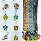Harry Potter Series Keychain Keyring Pendant Lanyard Neck Strap For Fan Gifts