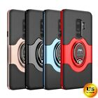 Внешний вид - For Samsung Galaxy S9/S8/Plus/Note 9 8 Ring Holder Shockproof Armor Case Cover