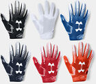 Внешний вид - Under Armour Boys UA 2019 F6 Youth Football Receivers Gloves Running Back Gloves