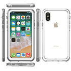 For iPhone X 7 8 Plus Waterproof Shockproof Dirt Proof Full-Body Protective Case