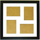 Multi Aperture Collage Picture Photo Frames Choice of Mount Design WOOD FRAME