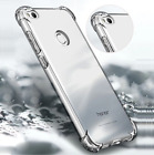 FOR HUAWEI P8 P9 P10 Lite 2017 Soft Silicon Clear Cover Case Shockproof Ultra