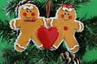 Personalised Family of 2,3,4 Christmas Tree Ornament - Gingerbread Decoration