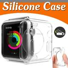 Apple Watch iWatch 1 2 3 Case  Cover Protector TPU Rubber Bumper  38/42MM