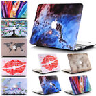 2in1 Artistic Fashion Pattern Plastic Matte Hard Case Shell  for MacBook AIR 13""