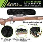 NX Scope Slicker Waterproof, Neoprene Rifle Scope Cover Scope protection US Made