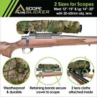 Scope Slicker DX - Waterproof, Rifle Scope Cover- 2 lens cloths & retainer bands
