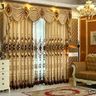 High grade Chenille curtain embroidery window curtains bedroom curtain cloth new