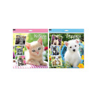 2018 Square Calendar Kittens & Puppies 12 Month Wall Calendar Home Office