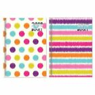 2018 Pocket Small Slim Size Diary Week To View Strips Spots Patterned Design