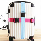 Внешний вид - Travel Buckle Lock Tie Down Belt for Baggage Nylon Adjustable Luggage Straps
