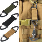 Outdoor Tactical Webbing Backpack Quickdraw Triangle Climbing Hanging Buckle