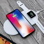 2 In 1 Wireless Fast Charger For Apple Watch iPhone 8 8Plus X Samsung S8 S8+