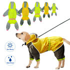 Cute Waterproof Reflective Costume Rain Jacket Raincoat For Pets Dogs Puppy