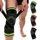2 Knee Sleeve Compression Brace Patella Support Stabilizer Sports Gym Joint Pain