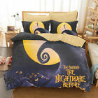 The Nightmare Before Christmas Jack Moon Duvet Cover Bedding Set Quilt Cover Set