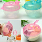 3 INTERLAYER DISPENSER FOOD STORAGE CONTAINER BABY FEEDING MILK POWDER BOX ORNAT