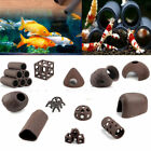 AQUARIUM FISH SHRIMP TUBE CUBES STAR CLAY SHELTERS HIDING AND BREEDING CAVE