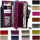 Womens Designer Phone Pouch Zip Long Coin Purse Ladies Wallet Card Holder New