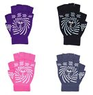 Women Yoga Pilates Fingerless Exercise Fitness WeightLifting Grip Workout Gloves