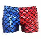 New Ladies Red & Blue Cosplay Suicide Squad Halloween Costume Top Shorts Pants