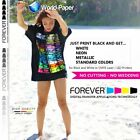 "FOREVER Flex-Soft No-Cut Laser/LED Heat Transfer Paper 8.5""x11"" 11""x17"""