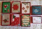 8 Papyrus Handmade Christmas Cards in Box & Notes Set NEW in Box - You Hand-picked!
