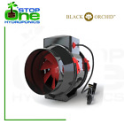 """Black Orchid Mixed Flo In Line Ducting Extractor Fan Hydroponics 4"""" 5"""" 6"""""""
