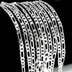 Wholesale 925 Sterling Silver Chain Women Men Necklace 16&#039;&#039;-30&#039;&#039; New Lot Jewelry <br/> various style 925 silver chain, high quality,best price