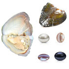 1/5/10pcs 7.5-8MM Wholesale Oysters with Cultured Pearls Birthday Wedding UK