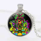 FNAF Five Nights At Freddy's Foxy Freddy Bonnie Chica Symbol Pendant Necklace
