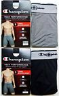 "Champion Men's Long Boxer Brief S XL Grey Athletic Fit Performance 9"" Inc New"