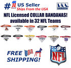 NFL Dog Bandana with Collar - Licensed, Reflective, Adjustable Pet Scarf Bandana $14.99 USD on eBay