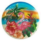 Continental Art Center Flamingo Glass Bowl