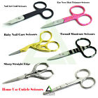 Professional Super Sharp Finger Toe Nail Scissors Manicure Cuticle Nail Pedicure