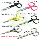 Professional Small Super Sharp Mustache Ear Nose Scissors Baby Hair Trimming New