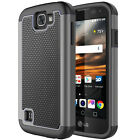 For LG L44VL/LVS425PP/Optimus Zone 3/Spree/Rebel/K4 Hybrid Rugged Impact Case