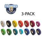 Howies Hockey Stick Premium Cloth Tape or Shin Tape 3-Pack You Choose Colors