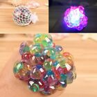 1Pc Novel Squishy Mesh Abreact Ball Squeeze Anti Stress Toy For Kids Play F&F UK