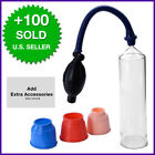PUMPS PENIS HANDSOME UP ENLARGEMENT VACUUM PUMP EXTENDER POTENCY ENLARGER MEN 8