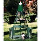 Kittywalk 72 in. Teepee Outdoor Green Cat Enclosure