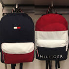 New Tommy Hilfiger Canvas Backpack Mens Womens Travel School