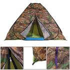 Waterproof 3-4 People Automatic Instant Pop Up Tent Camouflge Camping Hiking VP