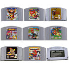 For Nintendo 64 Game Mario,Smash Bros,Kart Video Game Cartridge Console Card US