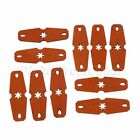 New Microfiber leather Len 48mm Catapult Slingshot Pouches Band Pouch with Hole