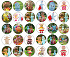 24/30/personalised IN THE NIGHT GARDEN CUPCAKE TOPPERS RICE PAPER IGGLE PIGGLE