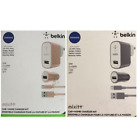 Authentic Belkin MIXIT micro USB Car + Home Charger Kit 4ft