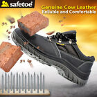 safety toe boots - Safety Work Shoes Mens Leather Boots Steel Toe Water Resistant US Stock L-7222